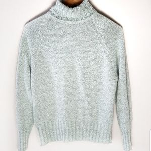 White Stag mint turtleneck sweater size M